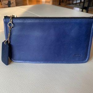 Blue Coach Skinny Case 7170 EUC Vintage